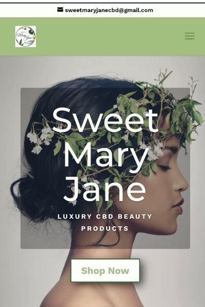 sweet mary jane mobile website